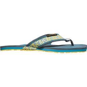 La Sportiva M's Swing Shoes Slate/Tropic Blue